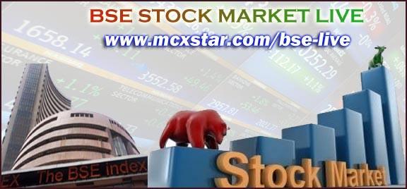BSE Live stock market watch