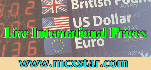 Live international price for Forex and Mcx trading.
