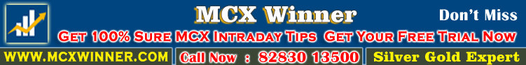 Mcx Winner Free trail : Live price price Update and Mcx Free Tips