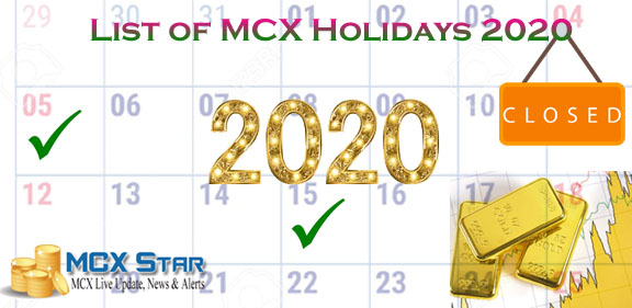 Mcx Trading Holiday 2020